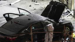 Zerbombtes Auto in Zagreb (Foto: REUTERS)