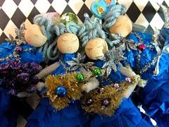 Ice Tree Queen Ornament Dolls! 6