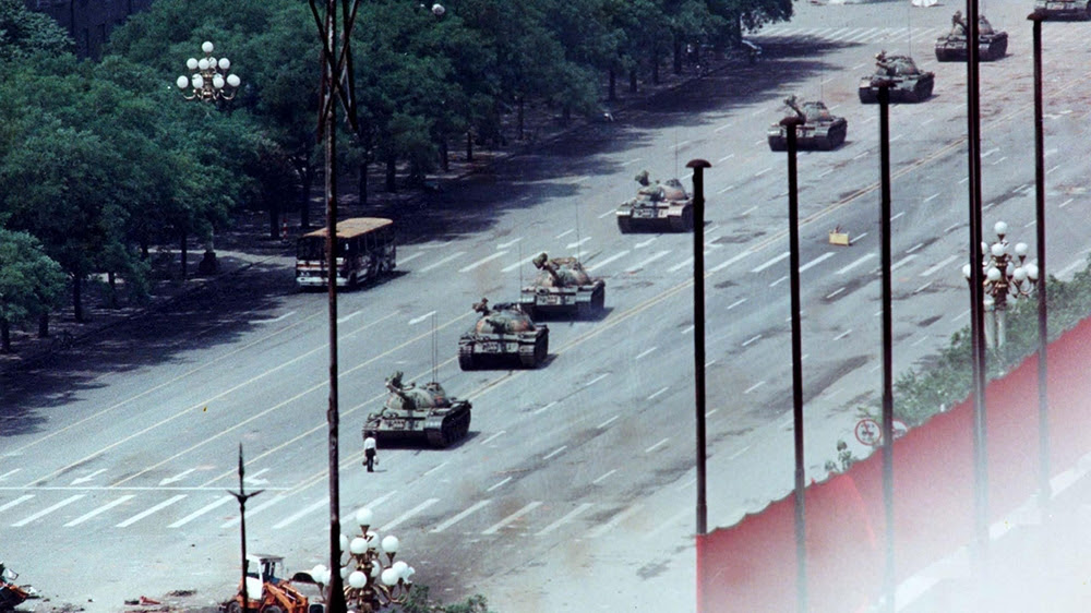 China defends bloody crackdown of Tiananmen protests