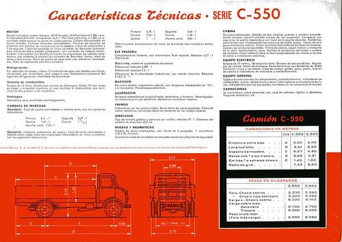 EBRO C 550 I