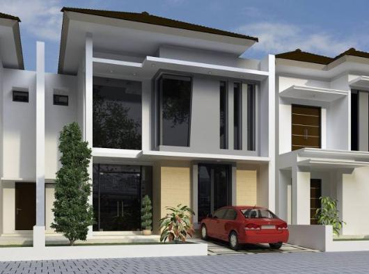 Desain Rumah Minimalis 2 Lantai Type 3672 Terbaru 2 Desain Rumah Minimalis