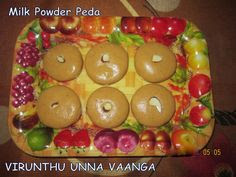 Milk Powder Peda