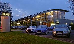 Deutsch: Audi Autohaus in Dresden