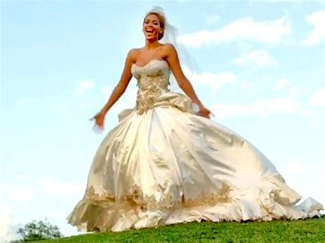 Beyonce's Wedding dress in Best Thing I Never Had   Took