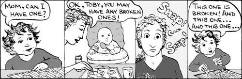 Home Spun comic strip #168