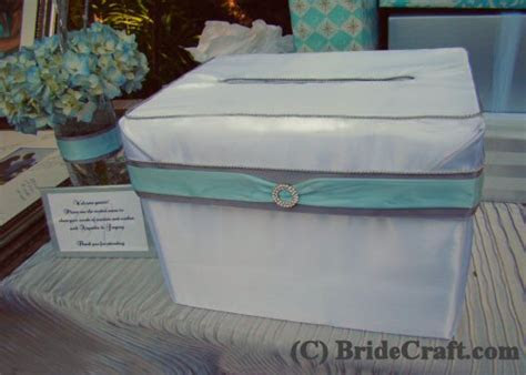 Craft a Satin Card Box for your wedding!