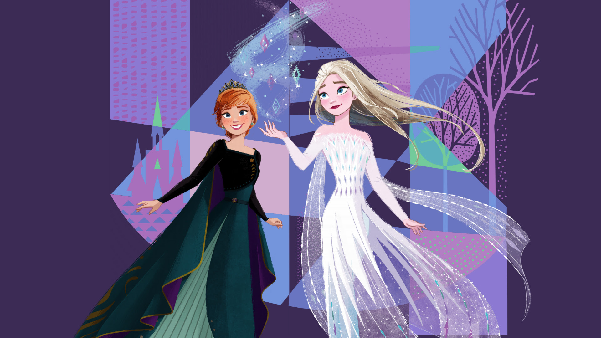 15 New Frozen 2 Hd Wallpapers With Elsa In White Dress And Her