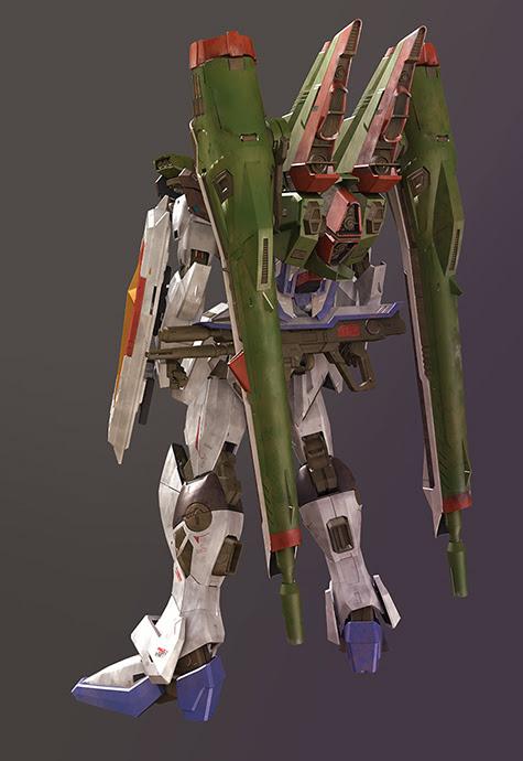 mobile suit gundam seed Impulse zgmf x56s 3d mesh cg sandrum blast