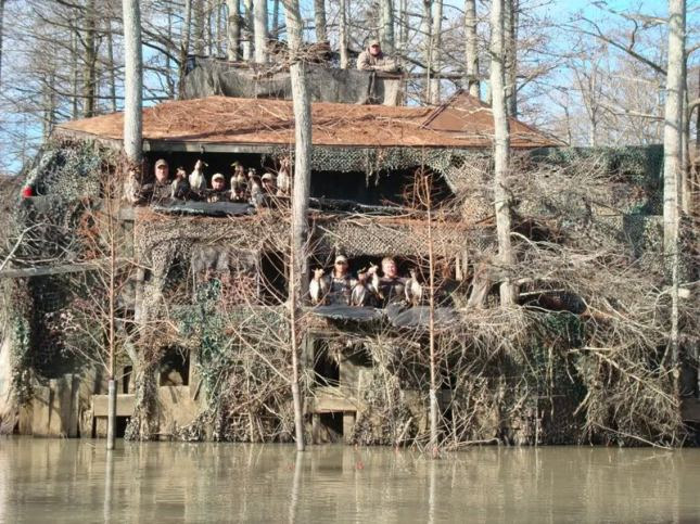 Duck Hunting Blinds Plans How To DIY Download PDF Blueprint UK US CA