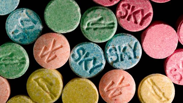 Ecstasy tablets contain MDMA, though they usually have a mix of other ingredients too. Pure MDMA remains rare in New Zealand.