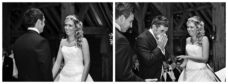Wedding ceremony at Priory Barns, Wymondley photo PrioryBarnsweddingPhilLynchPhotographer4_zps8aacde93.jpg