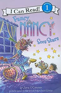 """Cover of """"Fancy Nancy Sees Stars (I Can R..."""