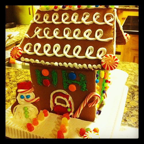 Good news: the taste of the icing in gingerbread house kits has improved drastically