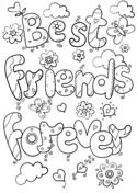 Dibujo De Amigos Para Colorear Dibujos Para Colorear Imprimir Gratis