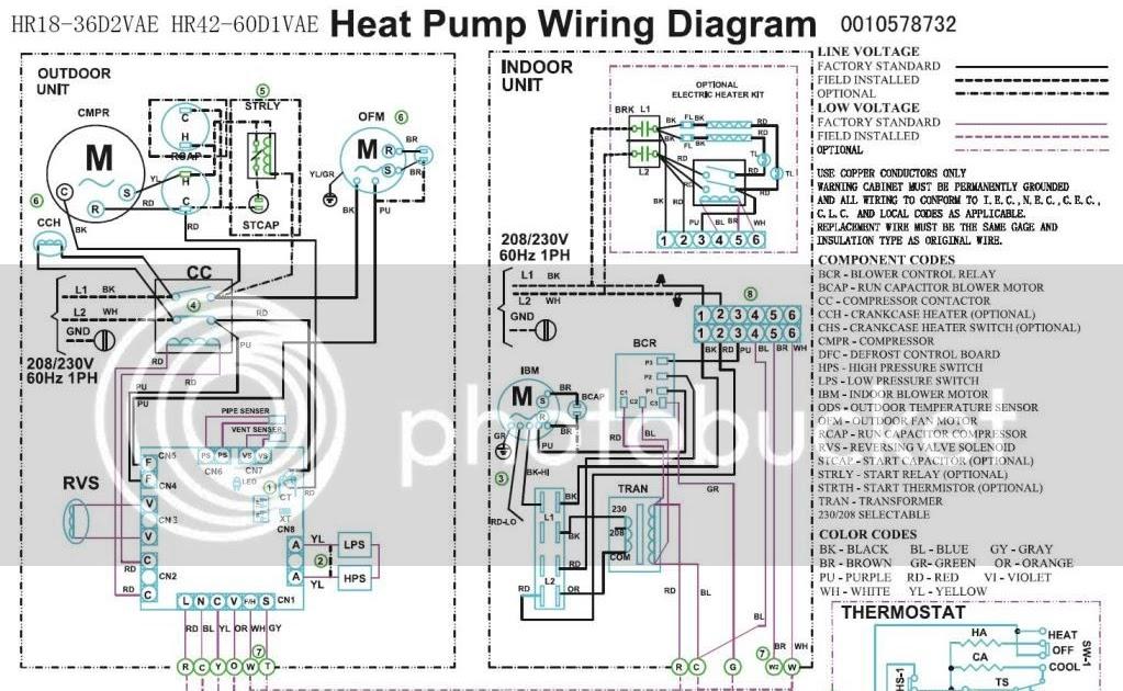 Wiring Diagram York Heat Pump