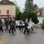Hommage à la commémoration du 8 mai 45 sous la pluie