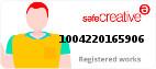 Safe Creative #1004220165906