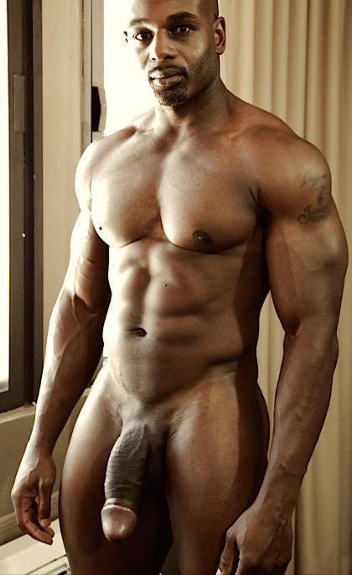 Sexy black men naked