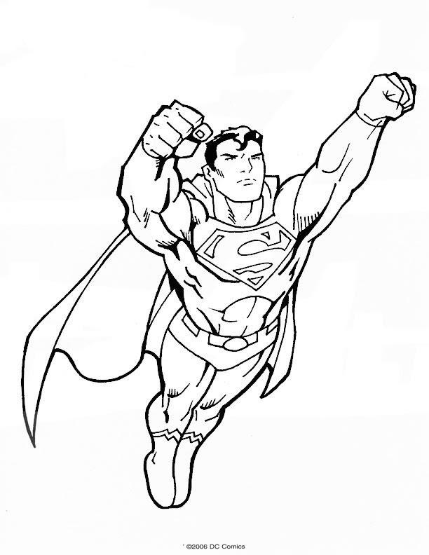 Superman 20 Az Coloriage