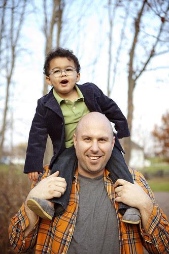 caleb & daddy