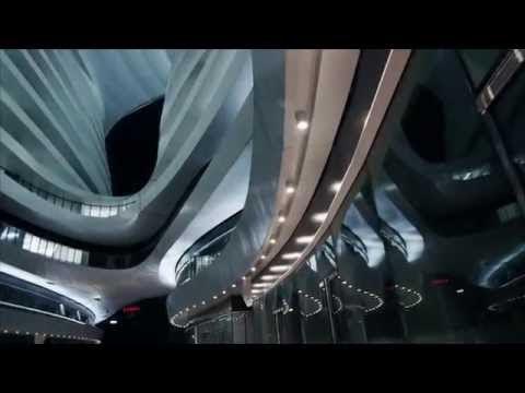 Video công trình Galaxy Soho của kts Zaha.
