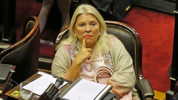 La diputada nacional, Elisa Carrió