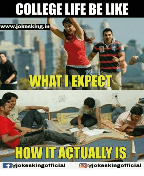 15 Top College Life Meme Jokes Images & Photos | QuotesBae