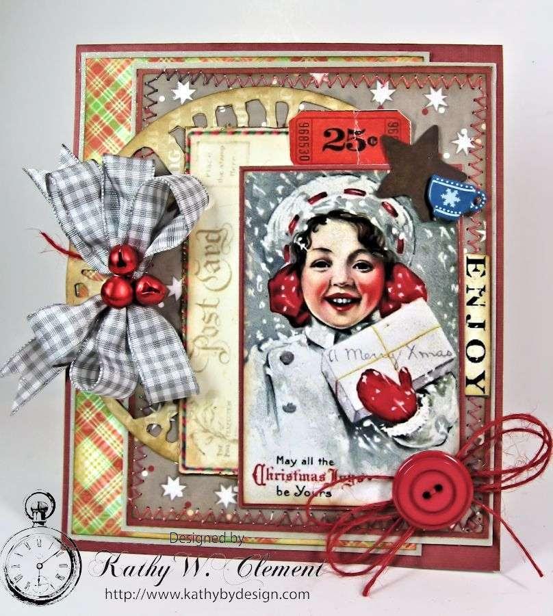 Merry Christmas Girl 01