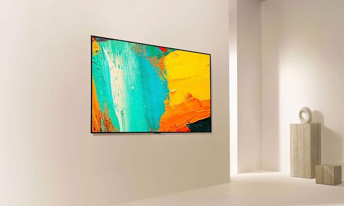 LG OLED GX, a TV that looks like a work of art