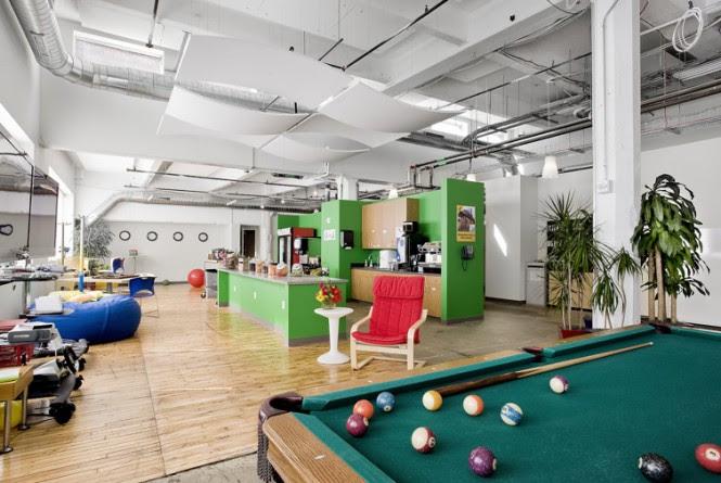 Google entertainment room