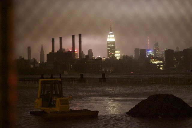 hurricane sandy manhattan