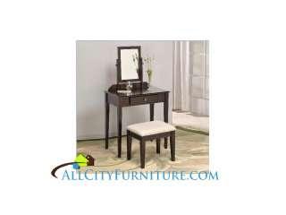 Mirror Vanity Set Makeup Table And Stool Bedroom Bathroom New