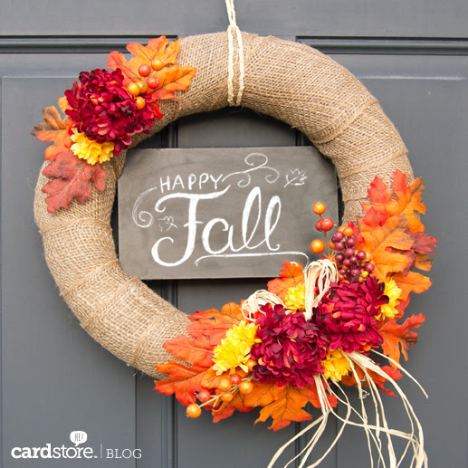 Image result for diy fall wreath