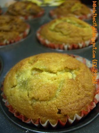DH greentea kaya cupcake