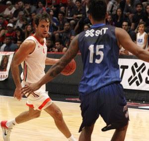 Marcelinho, Flamengo x Macaé Estadual basquete (Foto: Gilvan de Souza / Flamengo)