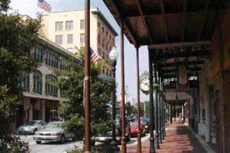 downtown pensacolas charming brick streets hold small