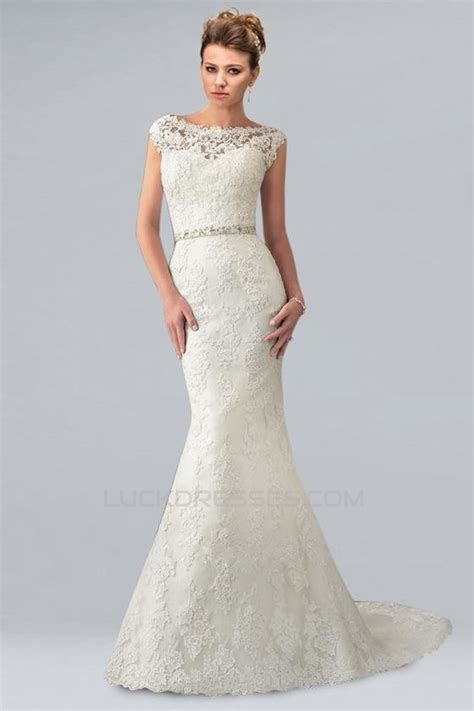 Trumpet/Mermaid Off the Shoulder Lace Bridal Wedding