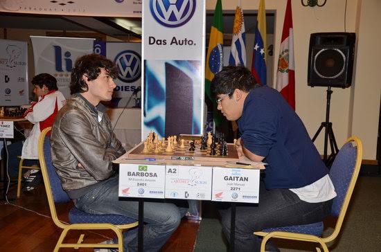 Adriano Barbosa vs. Juan Manuel Gaitán