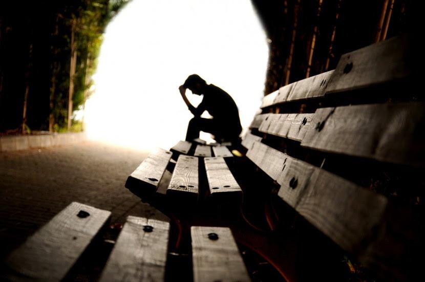 Cuando te sientes perdido y solo con tus problemas