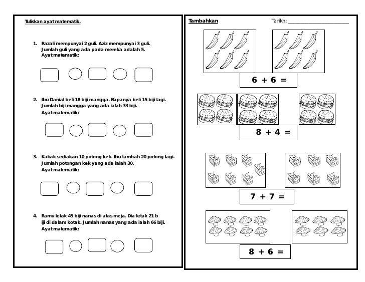 Ujian 1 Matematik Tahun 1 2012  Www.123paintcolor.download