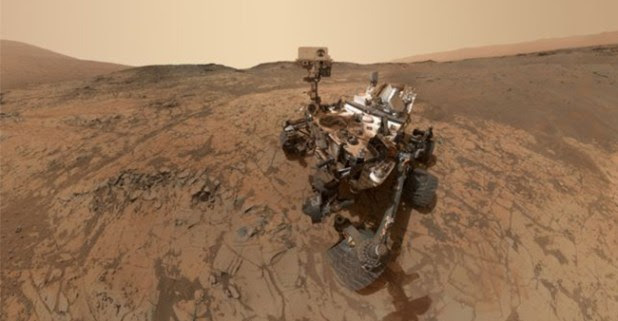 NASA reached Mars and took first selfie ever on the land, it looks magnificent