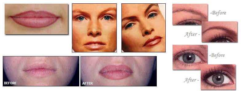 Maquillage Permanent Des Sourcils Line Makeup