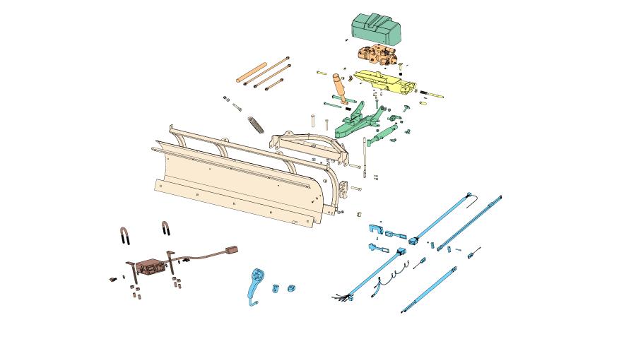 32 Boss V Plow Parts Diagram