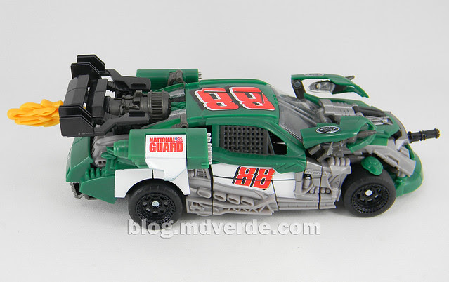 Transformers Roadbuster DotM Human Alliance - modo alterno