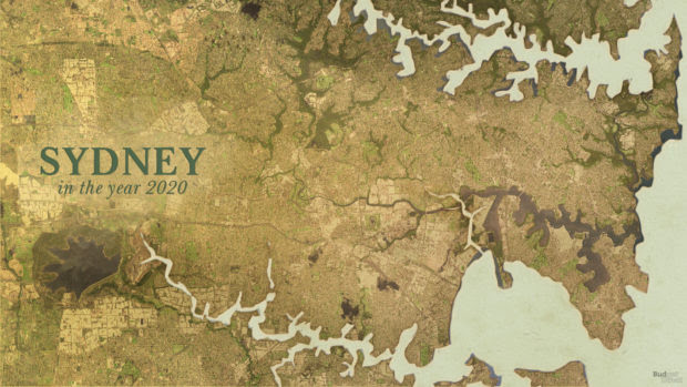 Watch Sydney grow: A moving map of the past 250 years