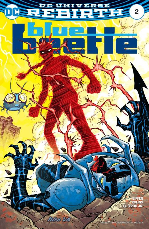 Image result for blue beetle #2 cover blur