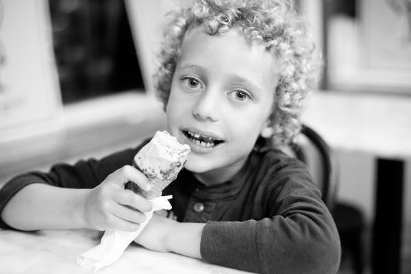Scoops, ice cream