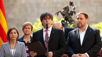 Carles Puigdemont anuncia la data i la pregunta del referèndum