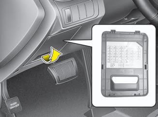 Kia Optima Fuse Relay Panel Description Fuses Maintenance Kia Optima Tf 2011 2021 Owners Manual