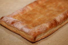 Trader Joe's Puff Pastry - Making a tart shell